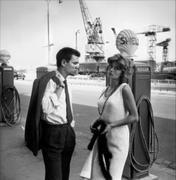Nackt  Anouk Aimée 1963