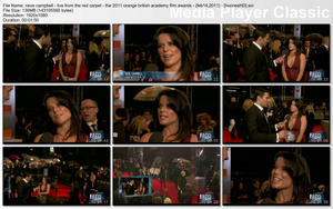 "NEVE CAMPBELL - ""Live from the Red Carpet - The 2011 Orange British Academy Film Awards"" - (February 13, 2011) - *SUPER LOWCUT* - VIDEO"