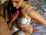 POV blowjob and sex with hot busty slut!...
