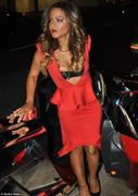  Christina Milian - at Mr. Chow in Beverly Hills 10/30/12
