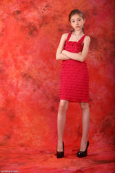Silver Stars Daria Red Dress 2 Picture