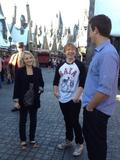 Evanna Lynch and Rupert Grint picture (Harry Potter)