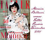 Monica Bellucci Tatler Russia December 2011
